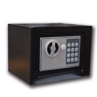 16L Max Security Digital Safe Electronic Cash Password Box Keep Safe Box w// Keys